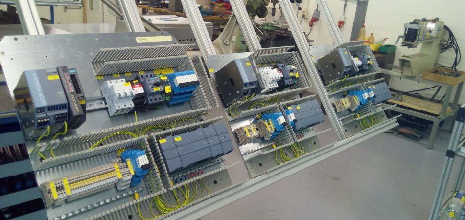 Building of Control panels