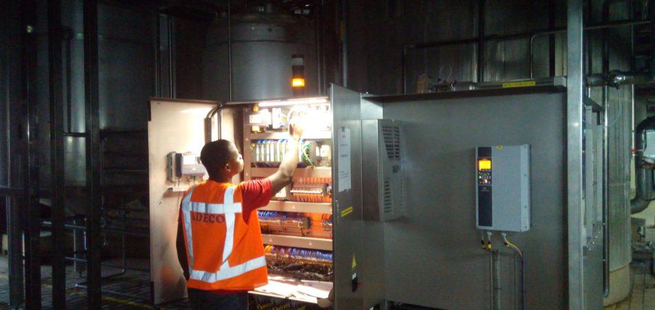 CIP control panel installation