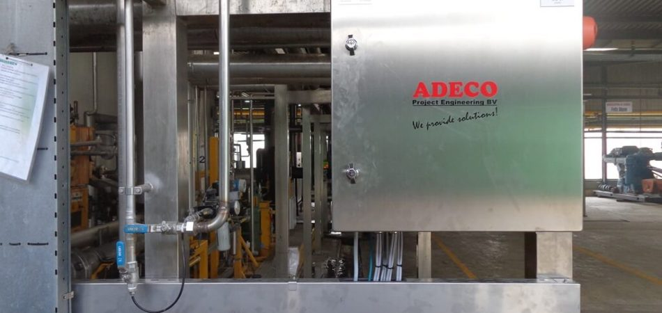 CO2 Detection installation
