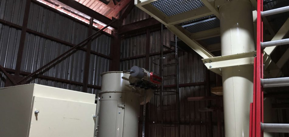 Installation of Material Intake equipments