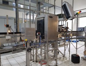 Cross Section of Installed and Commissioned Heuft Final View Machine at Renona, Lagos Nigeria